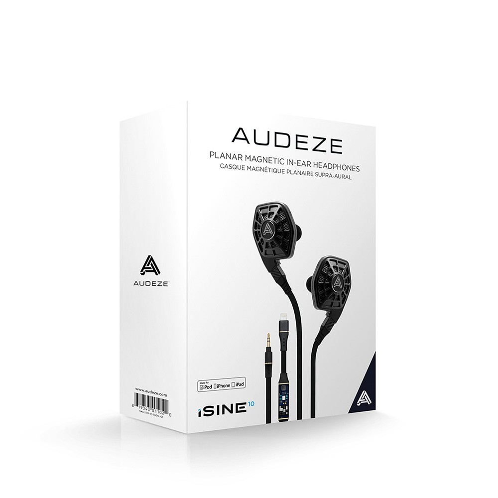 Audeze iSINE 10 SE In-Ear Slušalice + Lightning Kabel