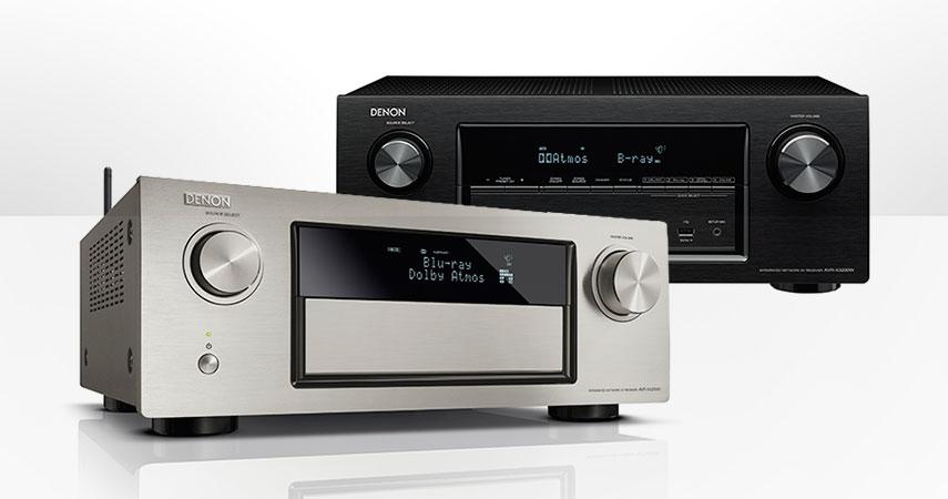 Novi Denon top receiveri - AVR-X4200 AVR-X3200