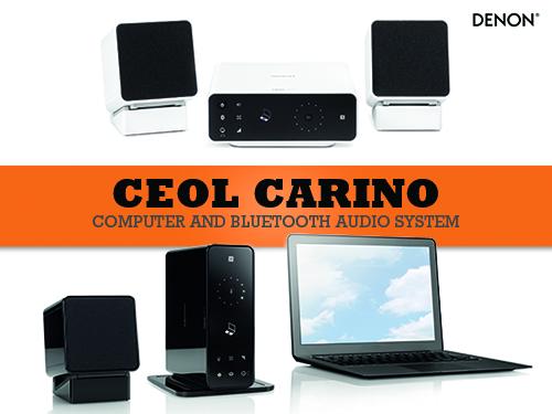 Denon CEOL Carino - Bluetooth mini linija za računalo