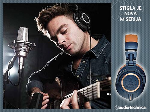 Audio Technica M50x - Stigli novi modeli studijskih slušalica!