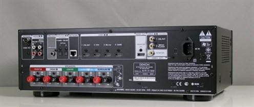 Denon AVR X1000 Rueckseiteseitlich1 560X237