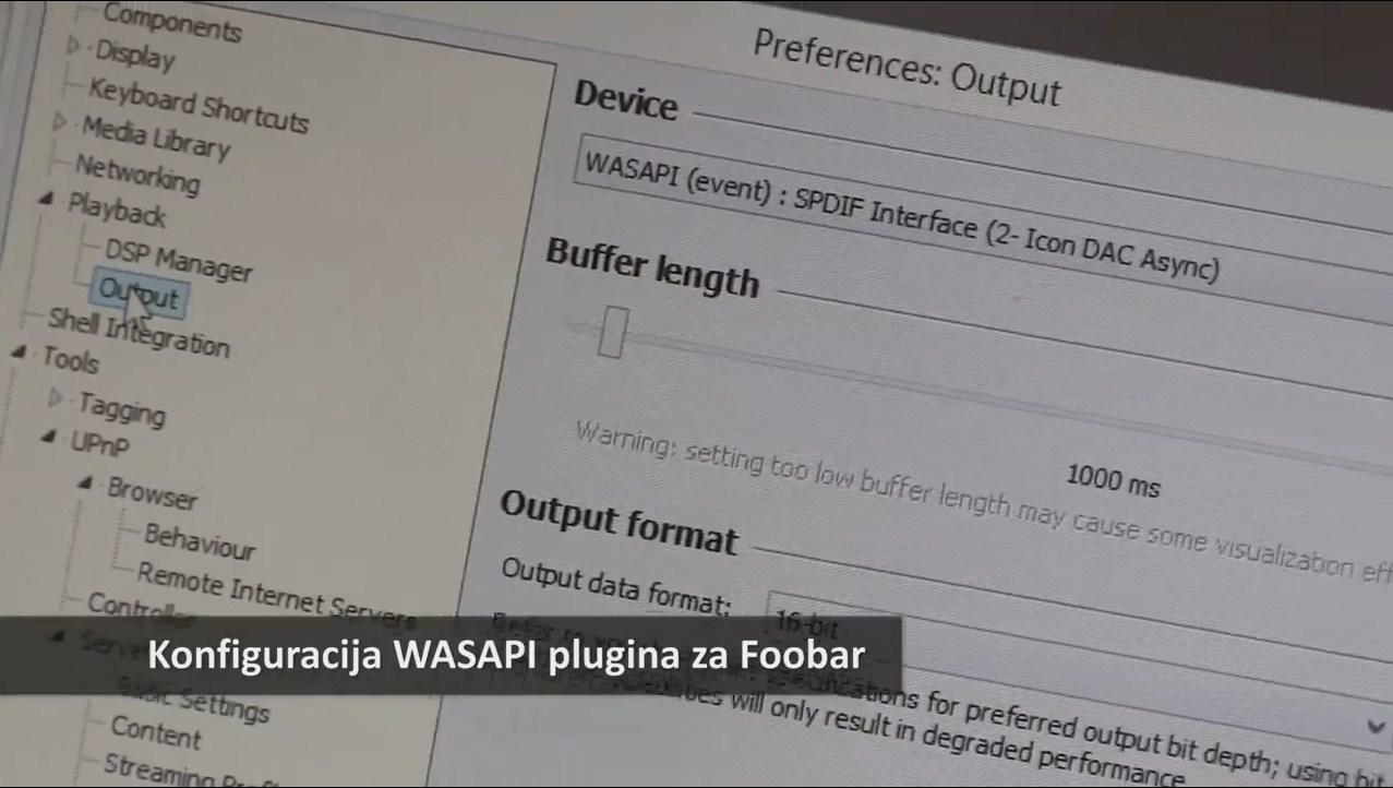 Konfiguracija Wasapi Plugina Za Foobar