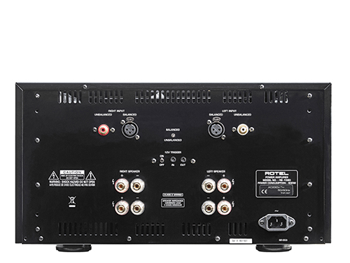 RB 1590 Stereo Power Amplifier Back