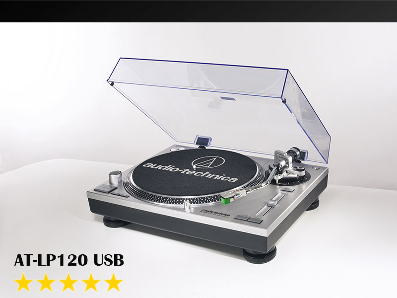 AT-LP120-USB - Gramofon za 21. stoljeće
