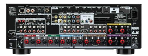 Denon Avr X4000 Back