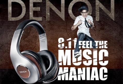 MUSIC MANIAC - Pozivamo vas na Denon prezentaciju!