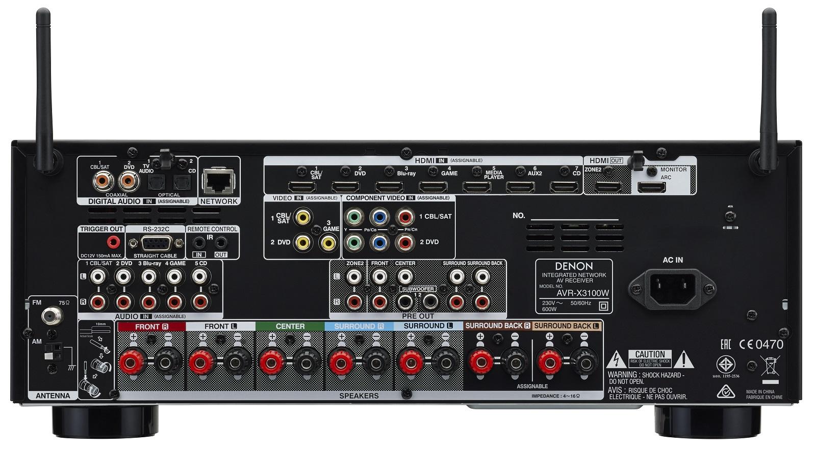 Denon X3100