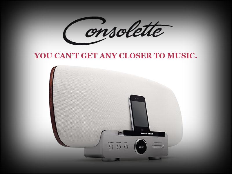 Marantz Consolette  - ovako zvuči 60 godina iskustva