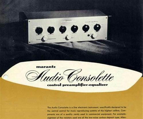 Marantz -original -consolette