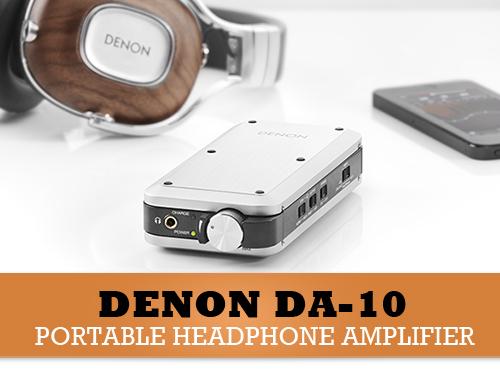Denon DA-10 - Prvi prijenosni audiofilski DAC & Headphone Amp