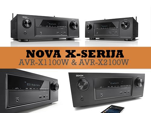AVR-X1100 & AVR-X2100 - Novi Denon AV receiveri