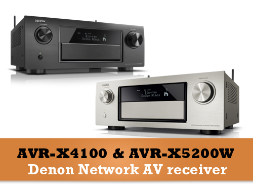 Novi Denon Top Receiveri - X4100 & X5200
