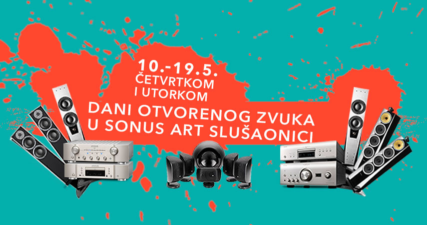 Pozivamo vas na dane otvorenog zvuka u Sonus Art Slušaonici!