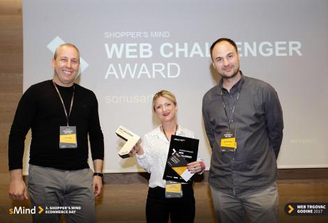 SMIND 2017 - Najbolji smo Web Trgovac 2017. u kategorijama Audio Video i Web Challenger!