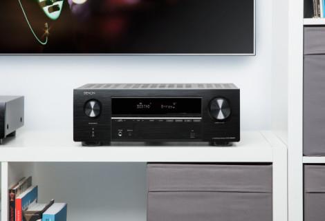 Još jedna Denonova uspješnica -  5-kanalni AV receiver Denon AVR-X550BT