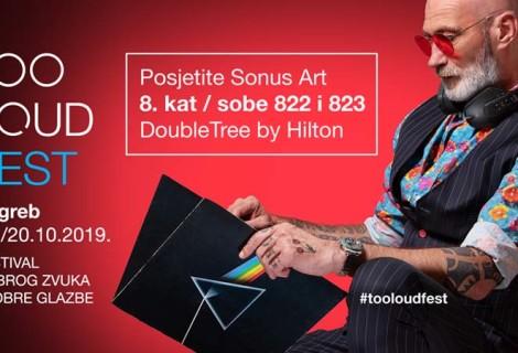 Vikend dobrog zvuka koji ne smijete propustiti - Sonus Art na Too Loud Festu 2019.!