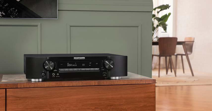 Najmuzikalniji zvuk u industriji uz novi 8K ultra HD Slim AV receiver iz Marantza!