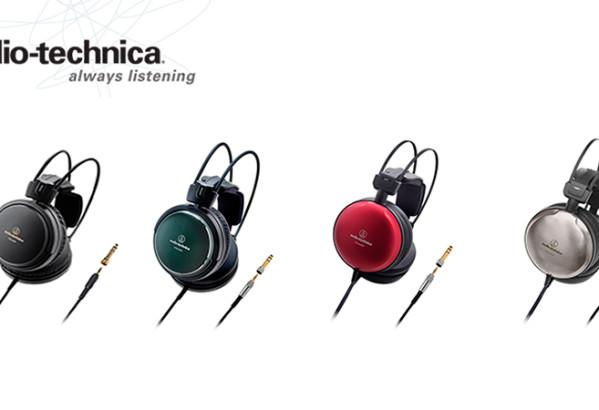NOVO: Audio-Technica predstavlja prenovljene avdiofilske slušalke iz serije Art Monitor!