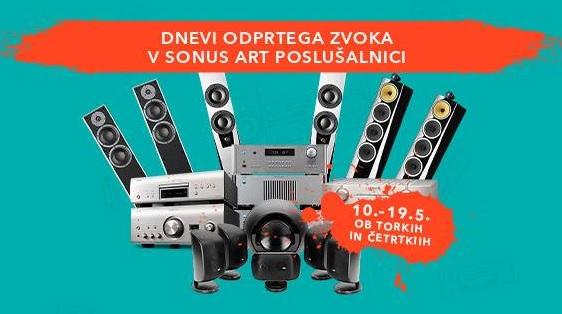 Vabljeni na dneve odprtega zvoka v Sonus Art poslušalnici!