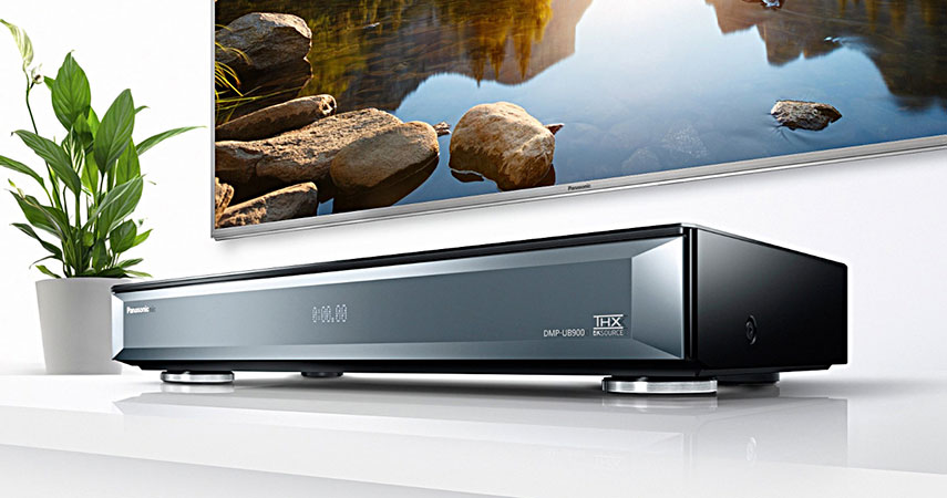 NOVO: Panasonic Ultra HD Blu-ray DMP-UB900!