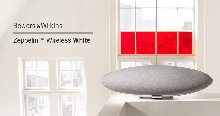 BOWERS & WILKINS PREDSTAVIL ZEPPELIN WIRELESS V BELI BARVI!