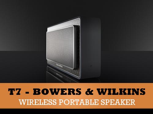Bowers & Wilkins T7 - brezžični zvočnik