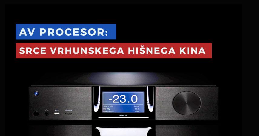 AV Procesor: Sestavni del vrhunskega domačega kina