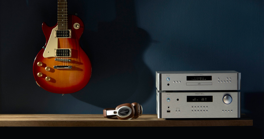 Rotel RA-1572 Int. Ojačevalec in Rotel RCD-1572 CD player