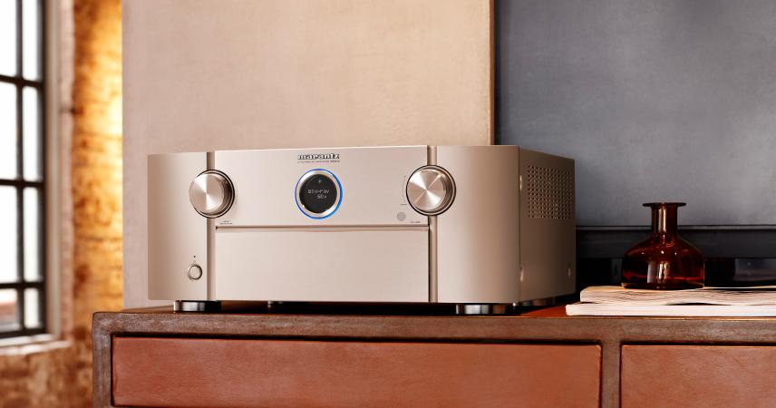 Marantz SR8012 - Novi Marantzov AV sprejemnik postavlja nove standarde za glasbo in filme!