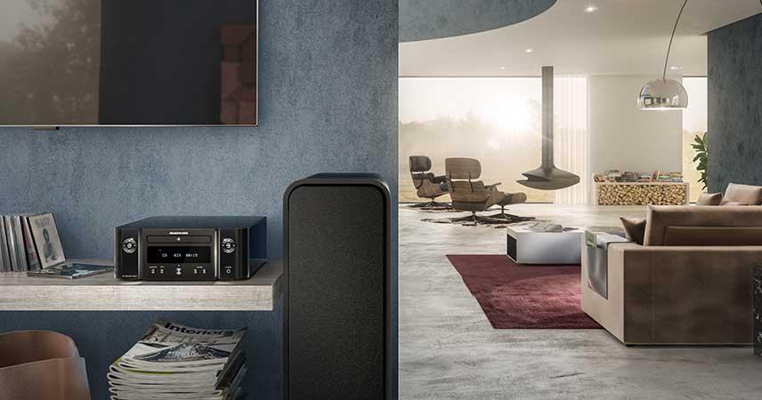 Marantz Melody M-CR412 - Klasične Hi-Fi zmogljivosti v sodobnem dizajnu