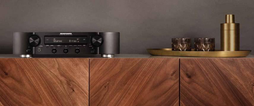 Marantz NR1200 stereo sprejemnik - HiFi zvok, HDMI povezave in vgrajen mrežni predvajalnik