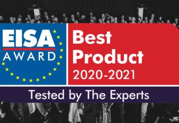 Eisa 2020/2021 Award – nagrajene naprave iz Sonus Art ponudbe